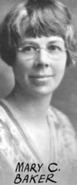 AB57 Mary C. Baker, Jan 27, 1927