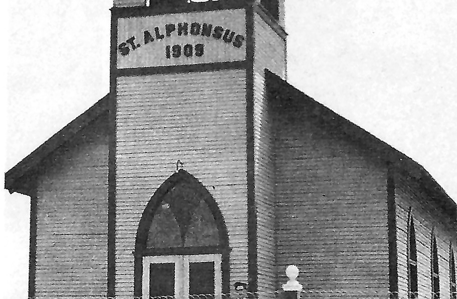 """St. Alphonsus Church on Kearney Boulevard was the home parish to many generations of Fresno County Italians. From baptism to marriage to funerals, community members flocked to """"The Church"""" to share the latest news from """"Little Italy"""" and to enjoy speaking in their native language or dialect."""