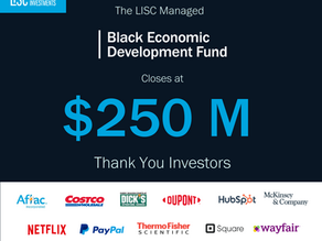 LISC's Black Economic Development Fund hits $250 million goal, makes first catalytic investments