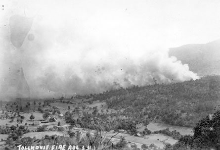 M109 Tollhouse fire, Aug. 3, 1931