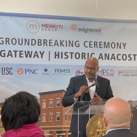 MLK Gateway Groundbreaking Ceremony
