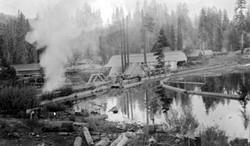 M064 Shaver Lake Mill, circa 1900