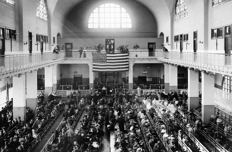 Most Italian immigrants passed through Ellis Island with very little money or belongings. Few spoke English. Often, inspectors could not understand the names of new arrivals and wrote down what they heard on entry documents. This forced some immigrants to adopt different spellings or even family names.