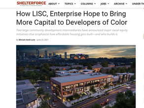 LISC, Stepping up the Intensity
