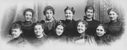 AR44 The Merry Wives Club, circa 1900