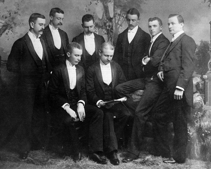 AR20 The Gay 90s Men's Club, 1892