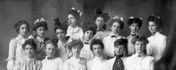 AR23 Jollie Fresno Girls, circa 1902