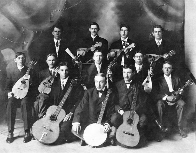AR33 Fresno Mandolin Club, circa 1920