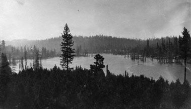 M069 View of Shaver Lake, circa 1910