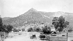 M091 Sarver's Peak, Tollhouse, circa 188