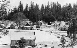 M053 Winter at Armstrong's Store, Pine R