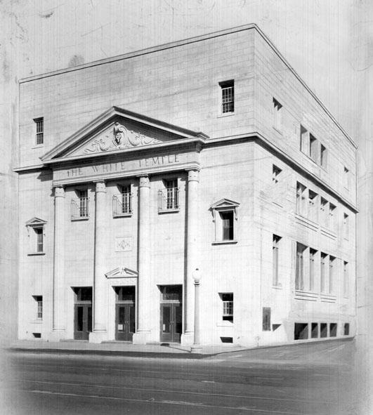 AR34 The White Temple, circa 1920