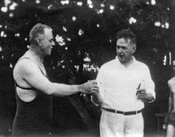 AB46 Arthur Anderson, in bathing suit, w