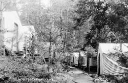 M020 Row of tents at Sierra Summer Schoo