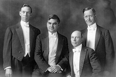 AR18 Fresno Male Chorus Quartet, circa 1
