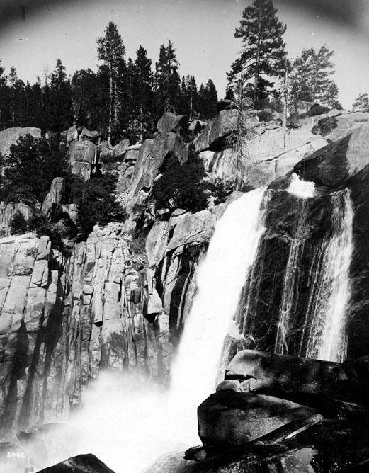 M003 Big Creek Falls, circa 1950
