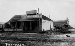 M004 Cash Store, Pollasky, Cal
