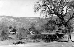 M092 View of Tollhouse, circa 1920