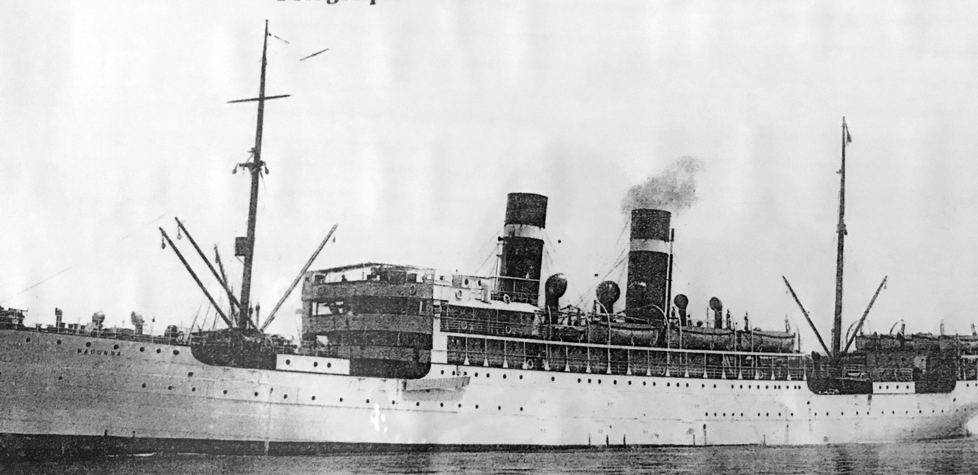 Vessels like the S.S. Madonna carried about four million Italian immigrants to the U.S. between 1880 and 1924. Originally, the trip to New York took three months. Later, the journey by steam ship was made in 10 days. Immigrants booked the cheapest passage in steerage or 3rd class. Conditions were brutal.