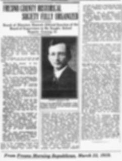 FCHS Fully Organized - March 23, 1919 -