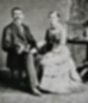 John Epler and Carrie Robinson Sage 1882