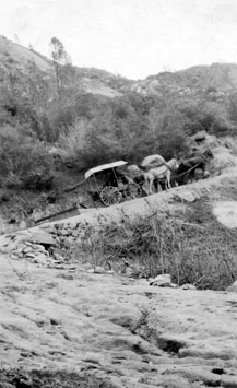 M093 Wagon on Tollhouse Grade, circa 190