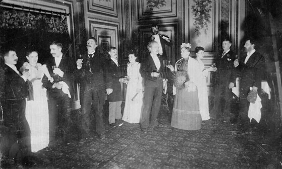 AR11 Danish Lodge event, circa 1895