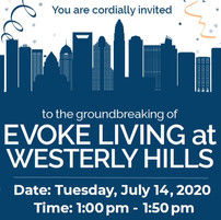 Virtual Groundbreaking of Evoke Living at Westerly Hills