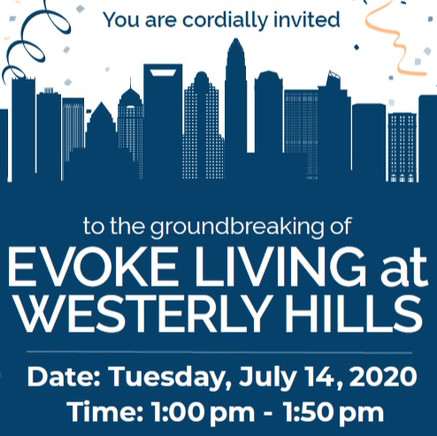 Virtual Groundbreaking of Evoke Living at Westerly Hills