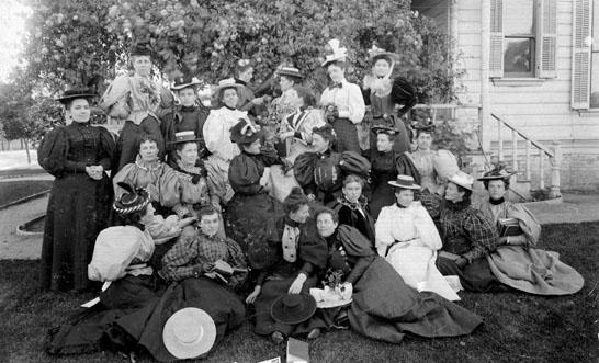 AR53 Query Club in yard, April 26, 1896.