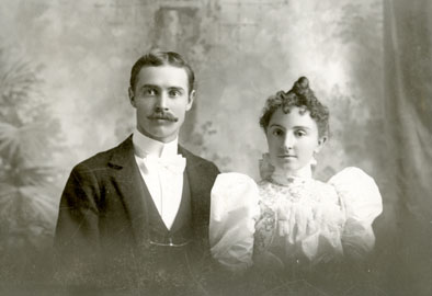 AB23 Anson Irwin Adams and Lillie May Ka