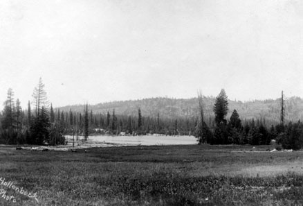 M084 Meadow near Shaver Lake, circa 1920