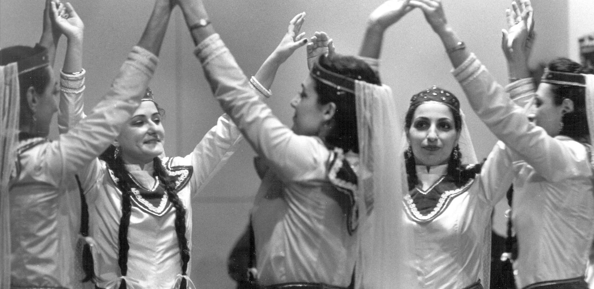 Armenian Girls Dancing
