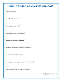 Everybody Counts - Question Sheet 4th -
