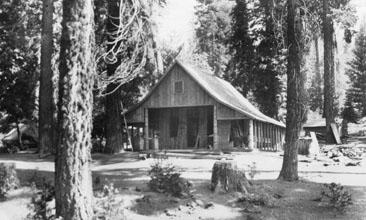 M055 Ed Bretz's cabin, July 1915