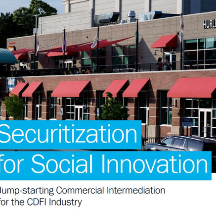 Securitization for Social Innovation
