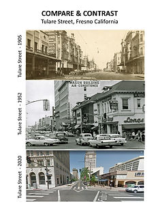 Compare and Contrast - Tulare Street in