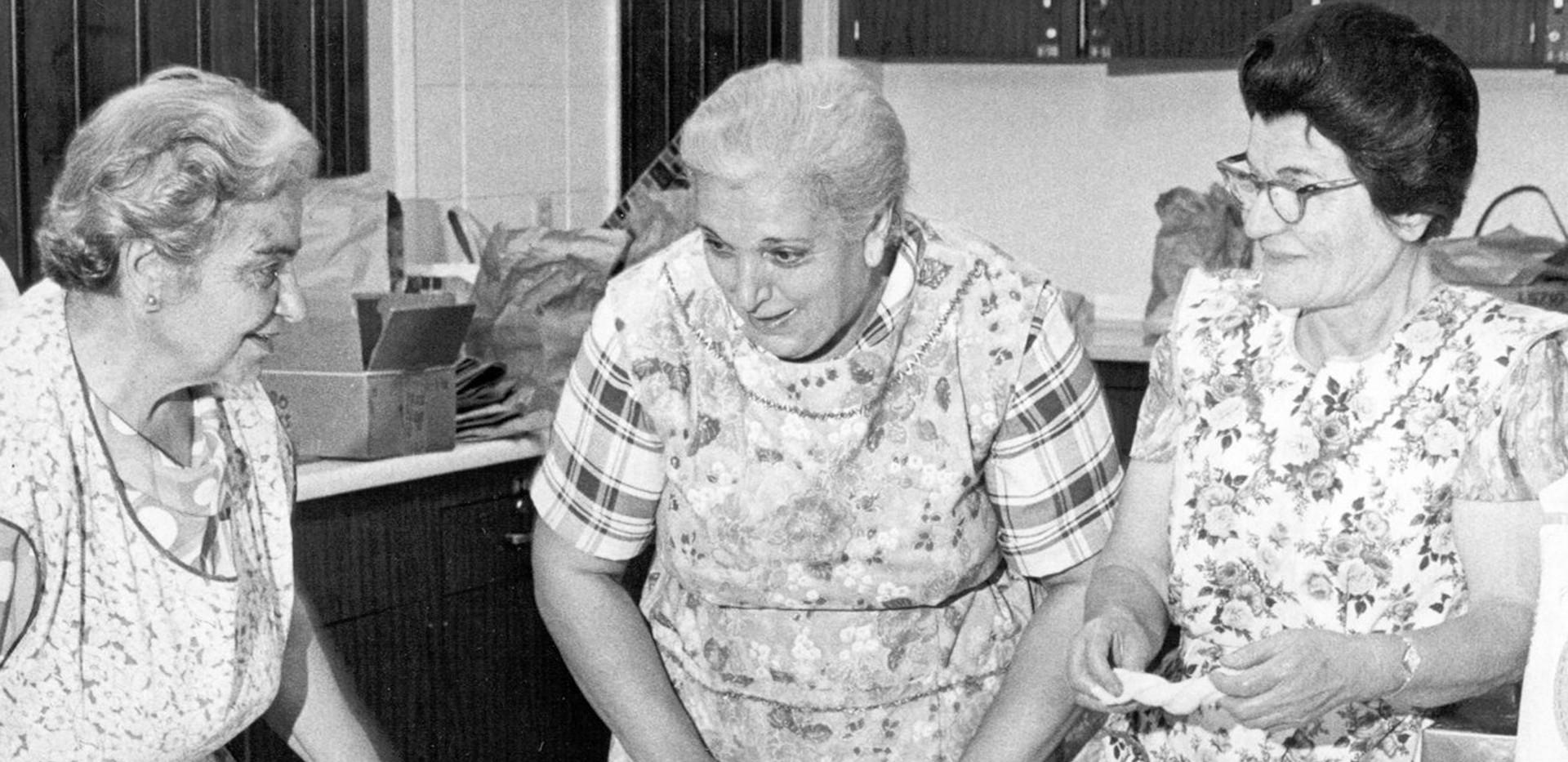 Armenian Women Baking