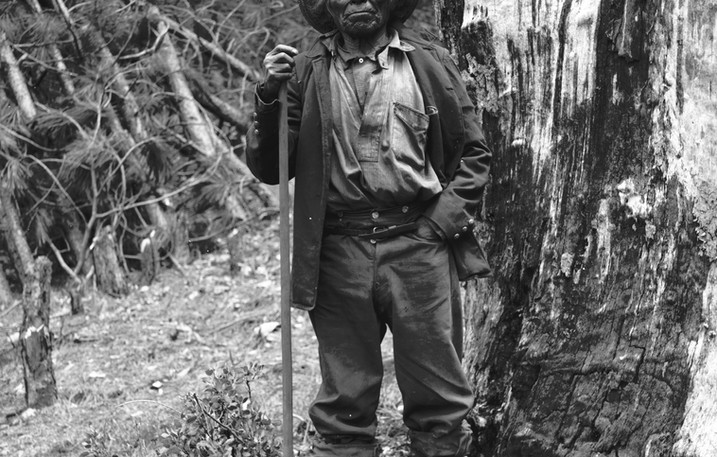 Monache man 1895-96 from AW Peters Collection