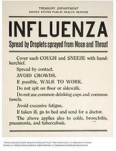 Influenza Spead Warning - Dept of Treasu