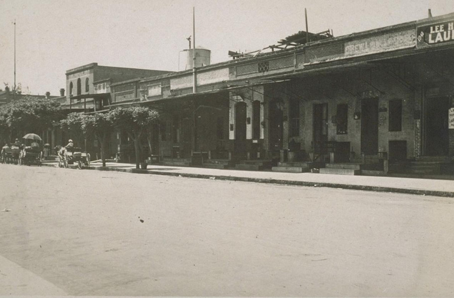 Fresno's Chinatown early 20th Century.