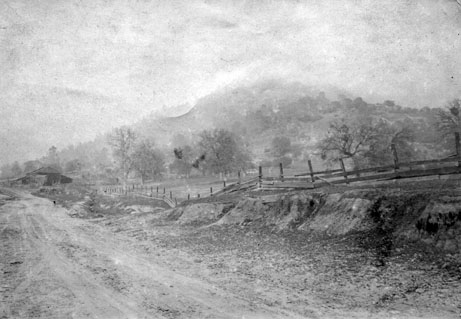 M103 Road near Tollhouse, circa 1900