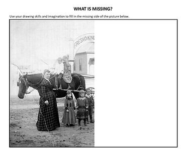 What is missing activity sheet - Kinderg