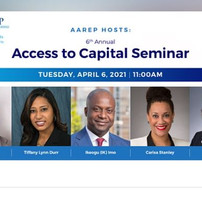 Access to Capital Seminar - African American Real Estate Professionals