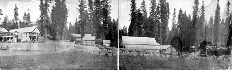 M046 Pine Ridge Panorama, circa 1910