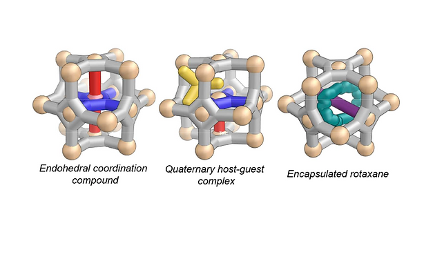 139. Otherwise unstable structures self-assemble in the cavities of cuboctahedral coordination cages