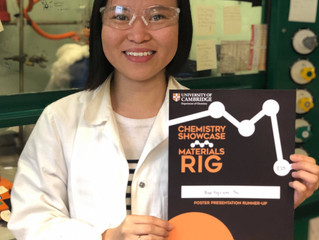 Nguyen wins a poster prize!