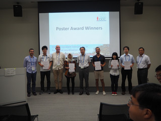 Felix Rizzuto and Masahiro Yamashina  win Poster Prizes at ICCC2018