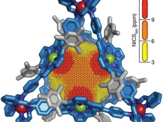 Antiaromatic nanocage is C&EN's molecule of the year 2019!