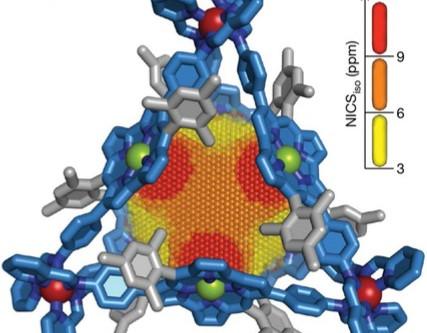 Antiaromatic nanocage is C&EN's molecule of the year 2019!
